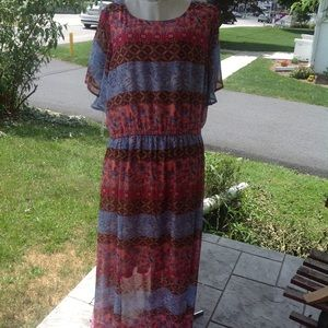 New lane Bryant maxi dress.